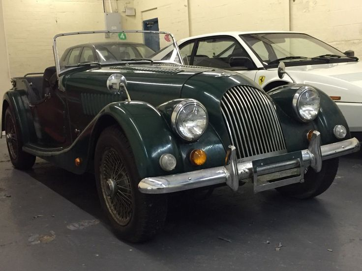 eBay: Morgan 1600 4 seater 1974 one owner from new BARN FIND