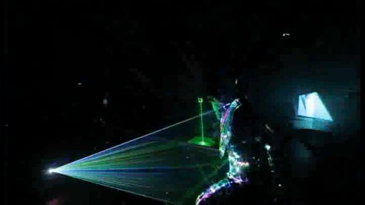 Spoiler content : Future human laser show