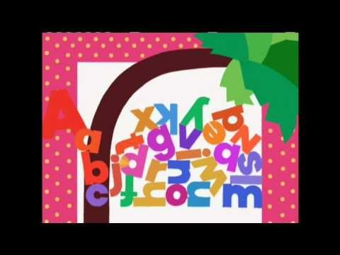 Chicka Chicka Boom Boom (Alphabet Song) - Animated Nursery Rhymes - Chil...
