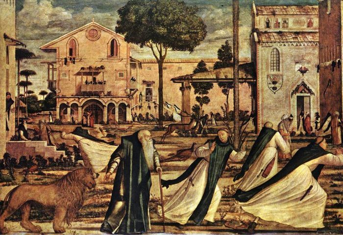 St Jerome and the Lion by CARPACCIO, Vittore