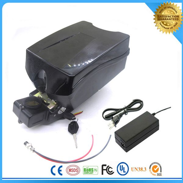 700W Safety quick charge 24V 30A for  Electric Bicycle Battery PACK rechargeable battery with 30A BMS and charger Frog case