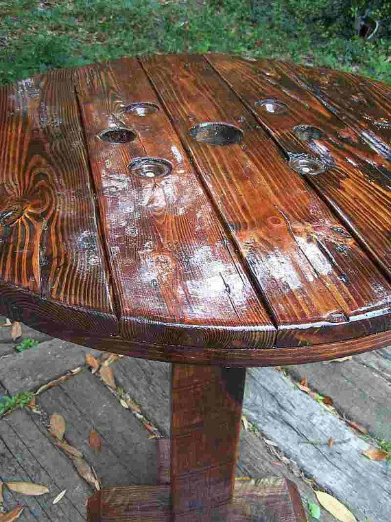 Pub Garden Table Woodworking Projects Plans