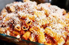 Ziti Al Forno Misschien wel het lekkerste pastagerecht uit de oven. Ooit.