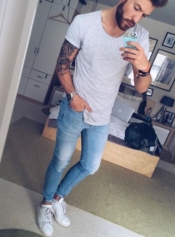 Pin by Samella Kozak on white jeans for men in 2018   Pinterest   White  jeans, Jeans and Mens fashion 106f05be8190