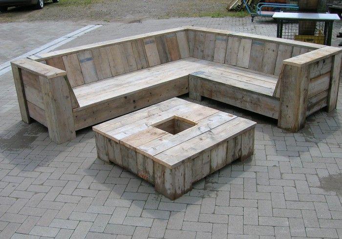 Loungeset pallets zelf maken google zoeken pallets for Zelf loungeset maken