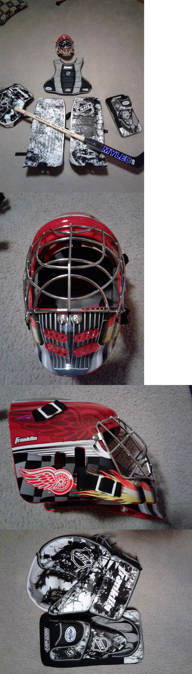 Other Hockey Goalie Equipment 79765: Franklin Goalie Equipment - Youth BUY IT NOW ONLY: $100.0