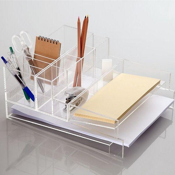 Muji's Acrylic Storage.
