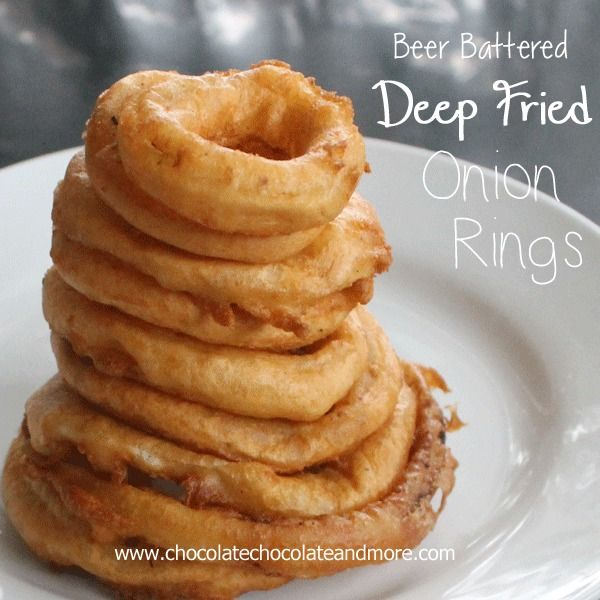 Beer Battered Onion Rings-the right oil and the right onion make all the difference! Let's talk about Onion Rings for a minute. There's a lot of variety in onion rings. You have to be careful when you go to a restaurant and order them, I don't think any 2 places make them the same. Some...