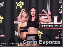 UFC 197: Carla Esparza returns to Octagon vs. Julianna Lima