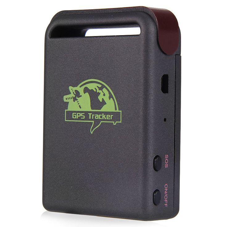 Kualitas tinggi GPS tracker Mini GPS/GSM/GPRS Mobil Kendaraan Tracker TK102B Realtime Pelacakan Perangkat Perangkat Melacak Orang