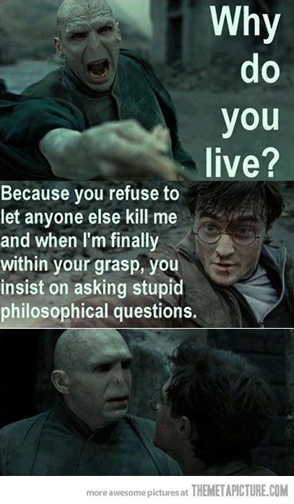 Ha. Harry Potter