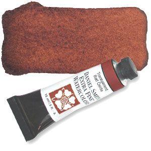Transparent Red Oxide (PR101) 15ml Tube, DANIEL SMITH Extra Fine Watercolor