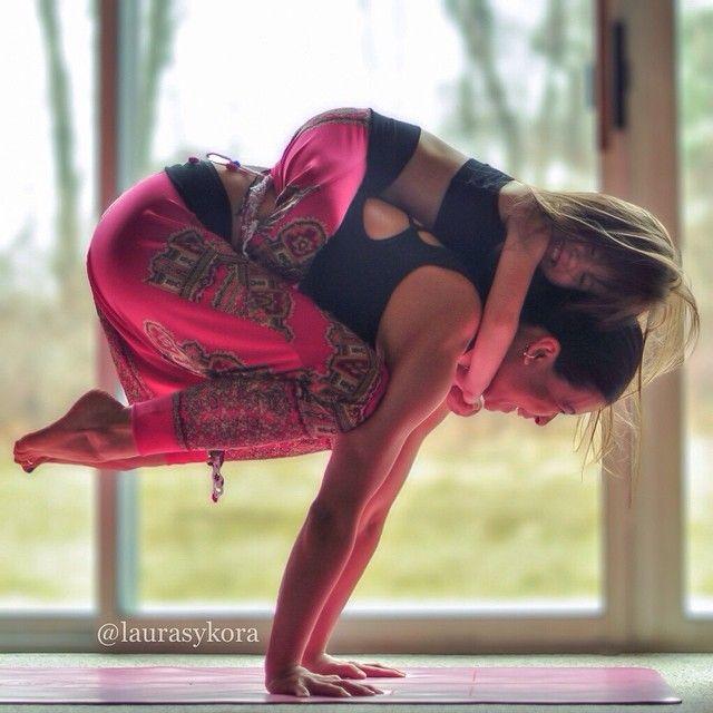 love this mini yoga master {via @Lauraskykora on Instagram}