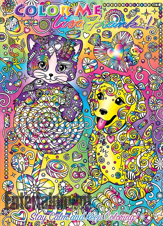 Lisa Frank coloring books: See the four 'Color Me Lisa Frank!' covers | EW.com