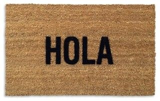 Hola Doormat - contemporary - doormats - by Better Living Through Design