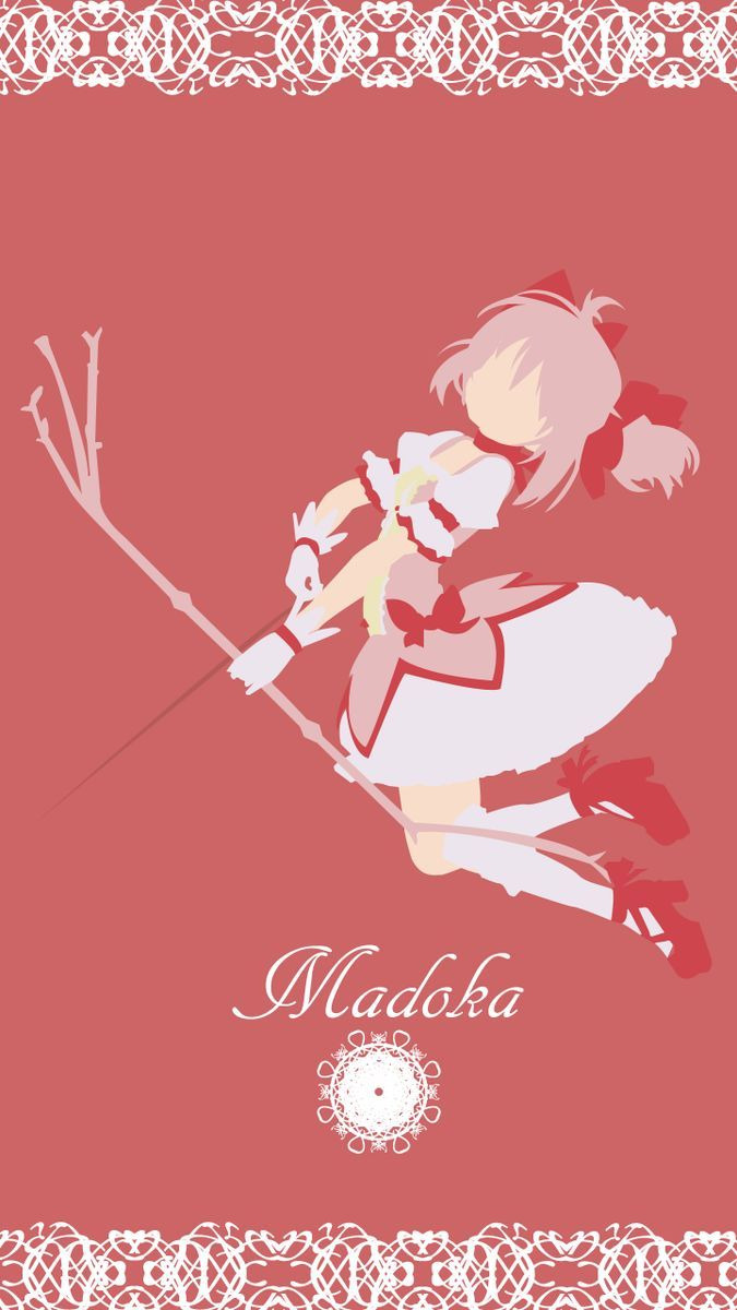 鹿目まどか 魔法少女まどか マギカ Iphone スマホ 壁紙 魔法少女まどか マギカ Iphone スマホ壁紙 待ち受け 画像 まどマギ Naver まとめ Puella Magi Madoka Magica Anime Art