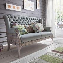 Cottage-style sohvat. Barnickel sohva CHALET. Paljon värivaihtoehtoja. - vallaste.fi