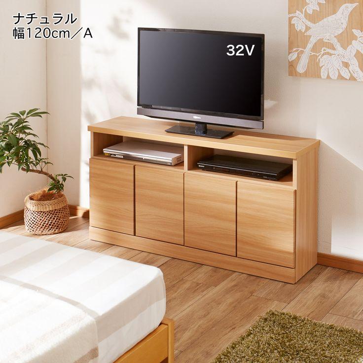 薄型ハイタイプテレビ台