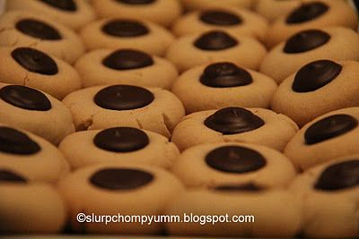 Brown Eyed Susan Cookies/ Chocolate Thumbprints (Eggless)...mom we need to make these for grandma!!! That has to happen!!!