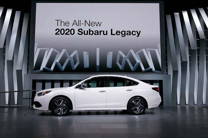 2020 Subaru Legacy Seventh Generation All New Sedan Subaru Legacy Hydraulic Systems Subaru
