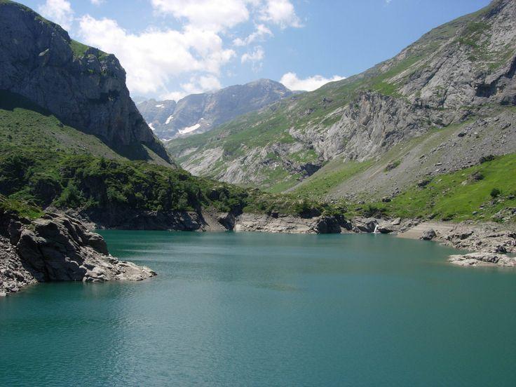 Balade du cirque de Troumouse, le lac des Gloriettes