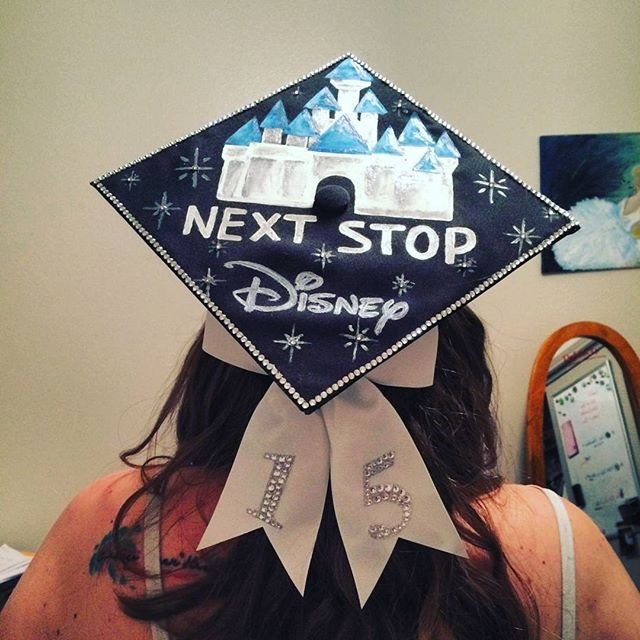 "This, but ""You've graduated, what are you going to do now?"" ""I'm going to Disneyworld!"""