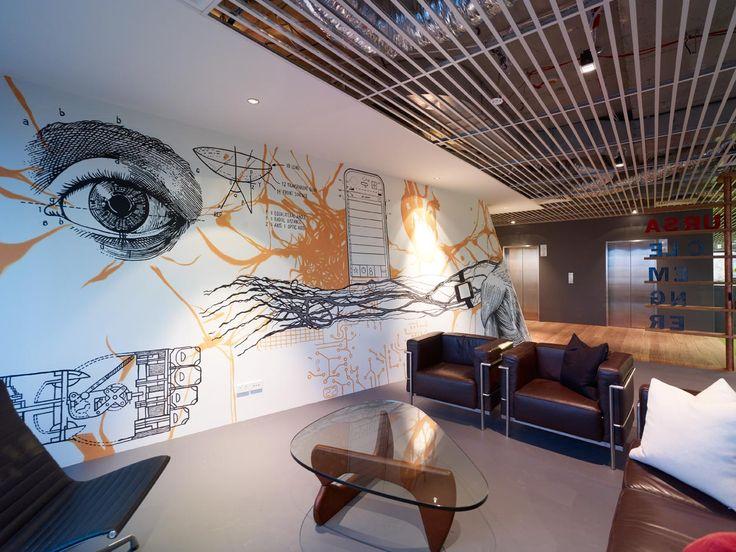 17 best images about oficinas con car cter on pinterest for Oficinas de vodafone
