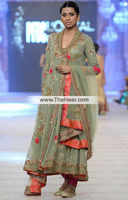 http://theheer.com/store/products.php?product=BW6103-Dark-Asparagus-Amaranth-Crinkle-Chiffon-Banarasi-Jamawar-Angrakha-Pishwas