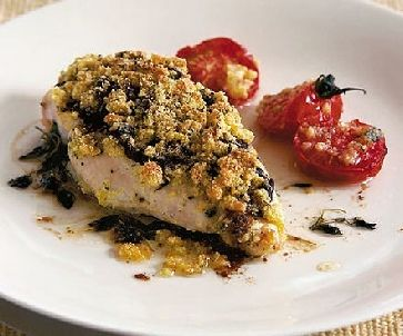 Low FODMAP Recipe - Chicken with Parmesan crumbs http://www.ibssano.com/low_fodmap_recipe_chicekn_with_parmesan_crumbs.html
