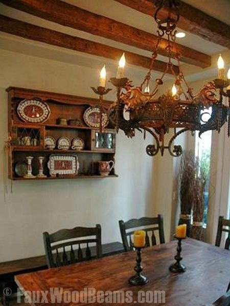 extraordinary design ideas wood ceiling beams. Even in a small space  faux wood ceiling beams and the right chandelier create 34 best Design Ideas Dining Rooms with Faux Wood Beams images on