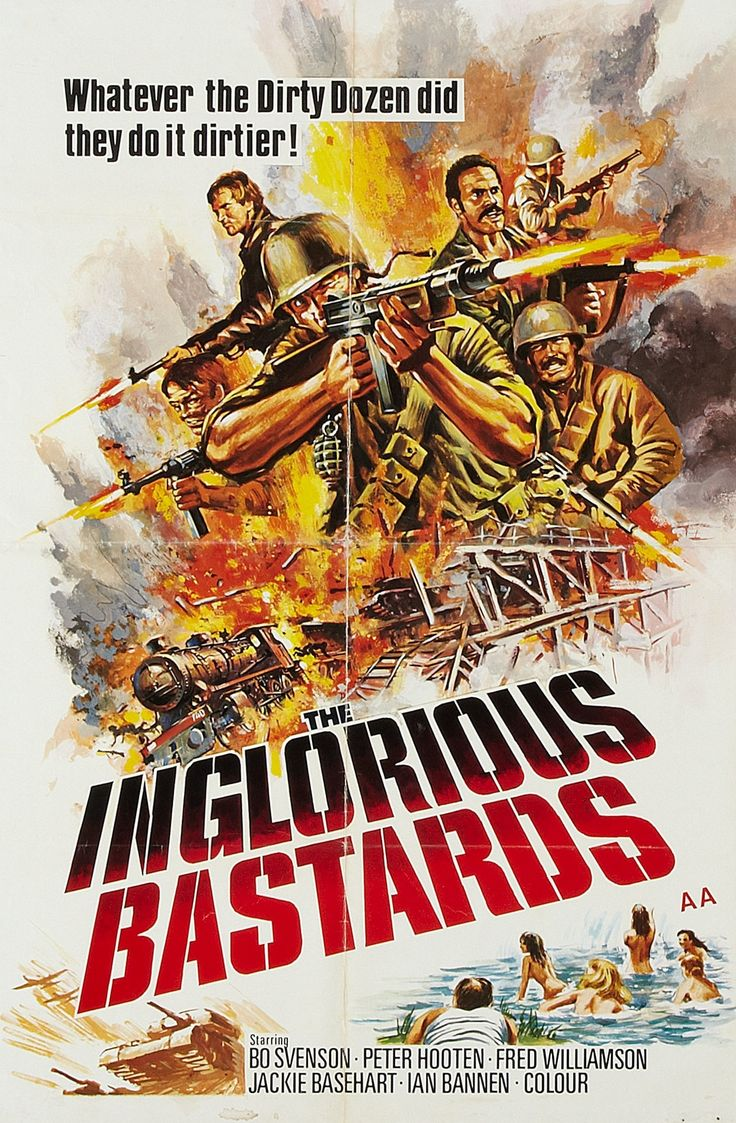 Swimsuit Movie Posters | We Want Action: Inglorious Bastards (1978) & Striking Distance (1993)