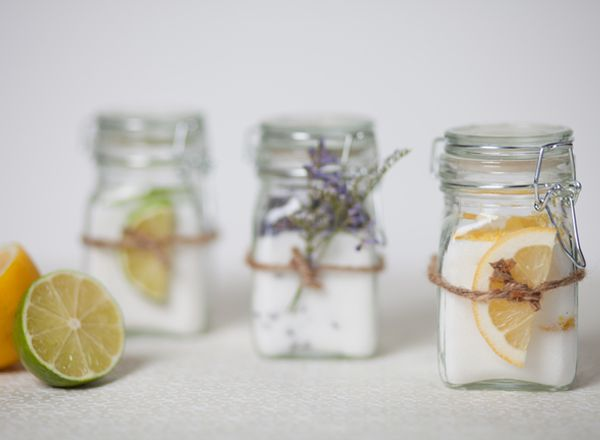{Gifts from the kitchen} Recipe for infused sugars