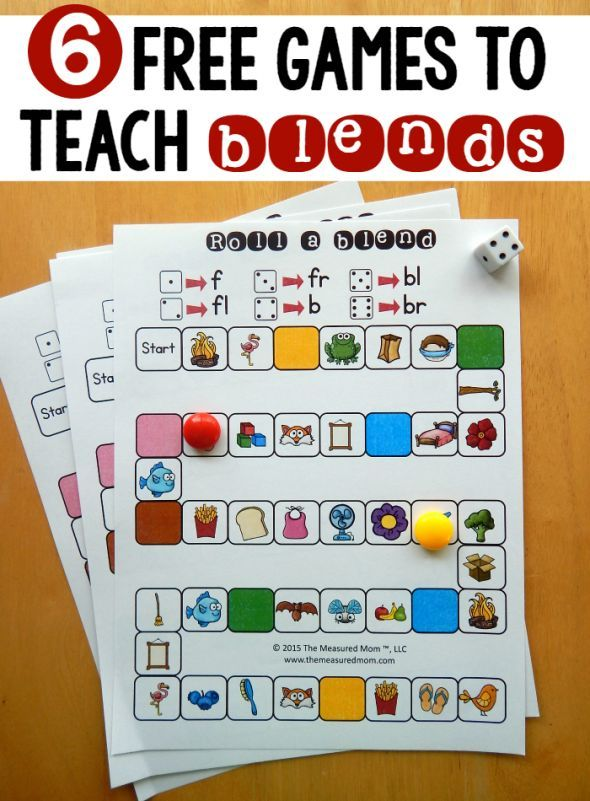 Try these free games for teaching beginning blends! I love how they start simple and get more challenging.