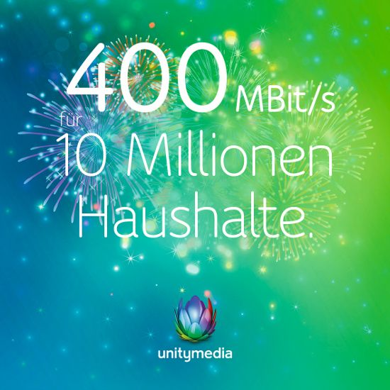 Unitymedia Highspeed-Wochen: 120 Mbit Doppel-Flatrate für 24,99 Euro mit 60 Euro Startguthaben -Telefontarifrechner.de News