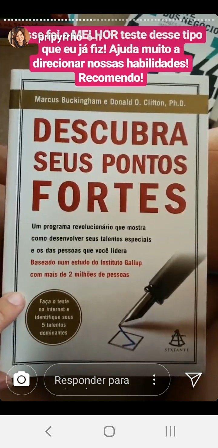 Pin De Adriana Demarque Em Livros Descubra Seus Pontos Fortes Você é Especial Revolucionário