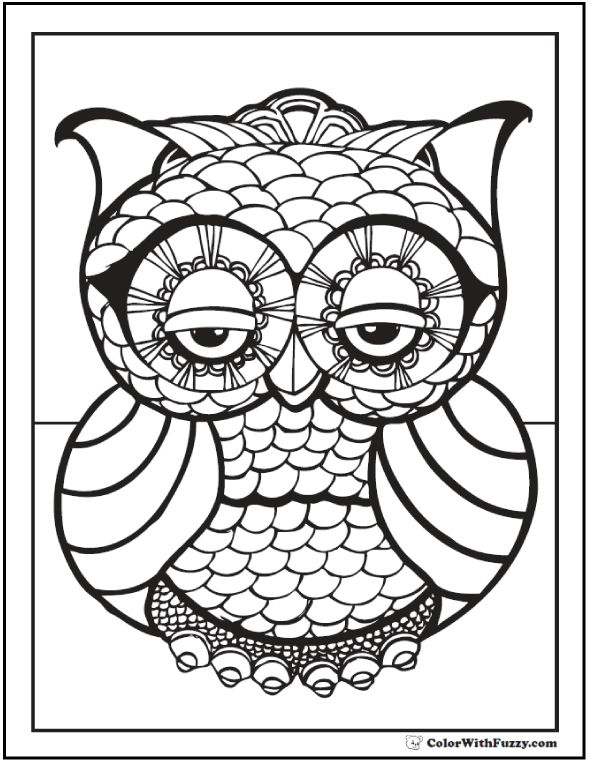641 besten owls Bilder auf Pinterest | Malvorlagen, Ausmalen und Eulen