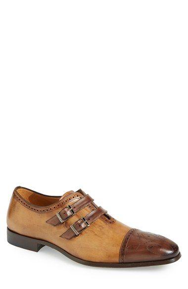 Mezlan 'Messina' Double Monk Strap Shoe (Men) available at #Nordstrom