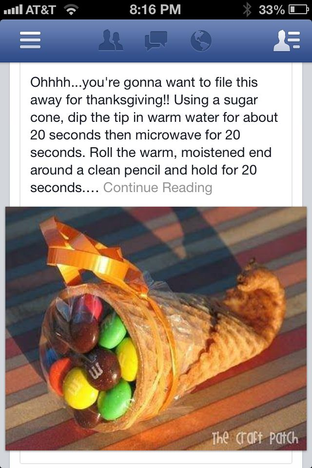 Thanksgiving cuteness. This would be even cuter of they where filled with runts fruit shaped candies!