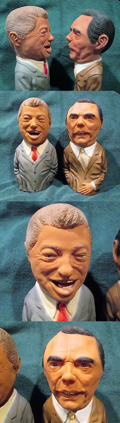 Bill Clinton: President Bill Clinton And Senator Bob Dole Presidential Rubber Hand Puppets 1996 BUY IT NOW ONLY: $26.0