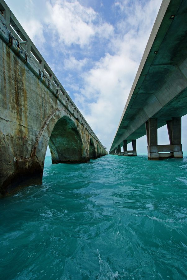 Long Key Bridge - Florida Keys-Where my father grew up and where I lived as a baby, then again when I was 7-8 yrs old and then also for a year, in 2009.