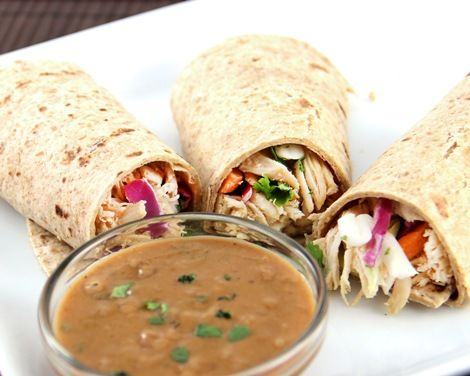Asian Chicken Wraps for 3-4 Qt. Slow Cooker