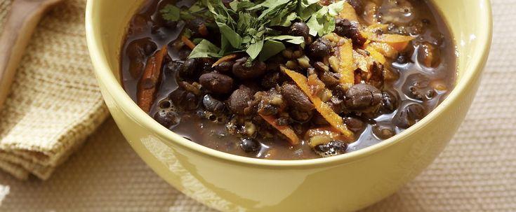 Cette soupe témoigne de l'utilisation abondante des légumineuses dans toutes les cultures des Antilles et de l'Amérique du Sud.