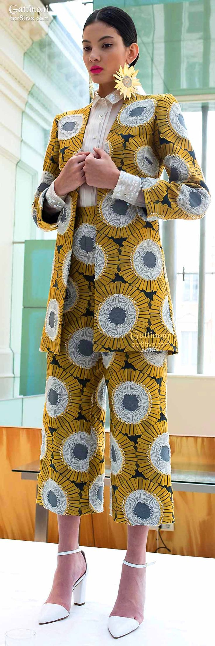 Gattinoni Haute Couture ~African fashion, Ankara, kitenge, African women dresses, African prints, African men's fashion, Nigerian style, Ghanaian fashion ~DKK