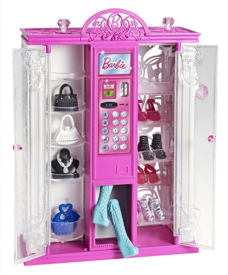 Barbie Fashion Vending Machine - NEW IN BOX!