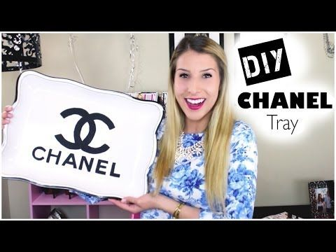 DIY Chanel Tray - YouTube