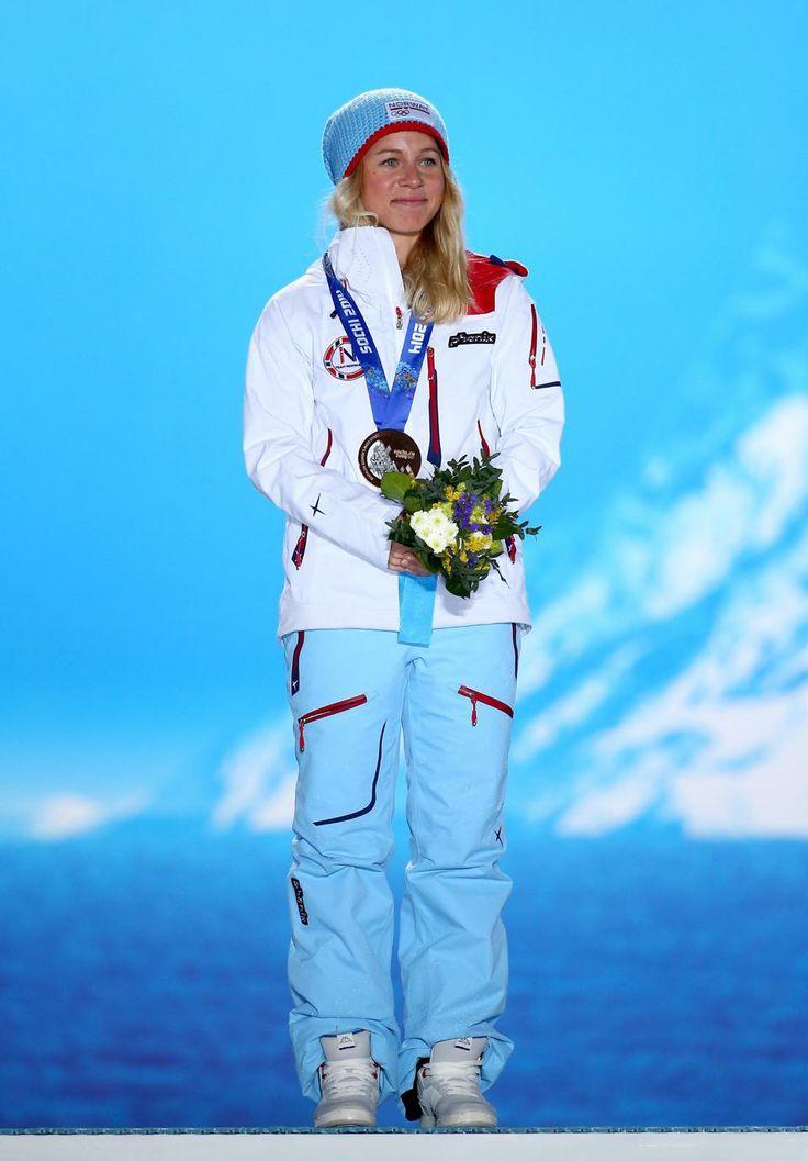 BIATHLON WOMEN'S 12.5km MASS START:  Bronze medalist Tiril Eckhoff of Norway