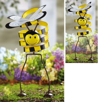 Bouncy Bumblebee Garden Decoration