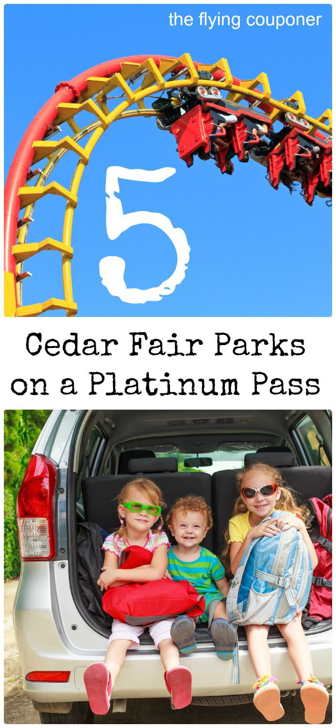 5 Cedar Fair Parks on a Platinum Pass. Family Travel and Traveling with kids. The Flying Couponer | Family. Travel. Saving Money.