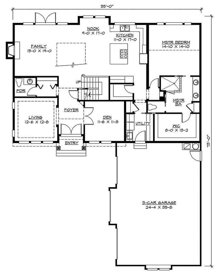 1000 images about plans on pinterest bonus rooms ranch for Ranch style house plans with bonus room