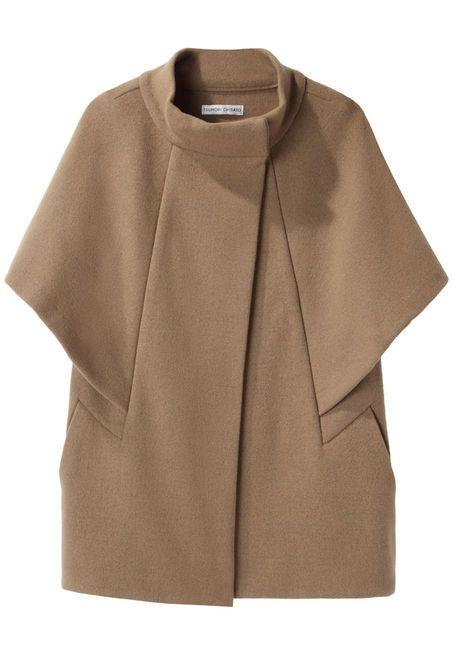 Tsumori Chisato Double Knit Cape Jacket